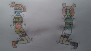 Bianca and Misty Kidnapped by SkySamurai83