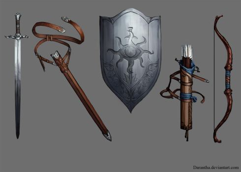 DA - the Inquisitor's weapons by Darantha