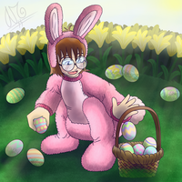 Easter Bunny Boy by AbeSedecim