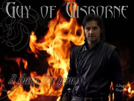 Guy of Gisborne I Burn For You by WhyteRayven
