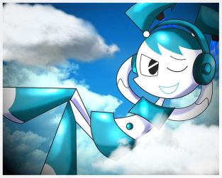 My Life as a Teenage Robot by xeternalflamebryx