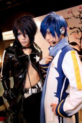 Vocaloid  : Twin Kaito by yuegene
