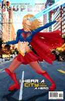 Supergirl TV Show Comic Issue 2 by Spacecowboytv