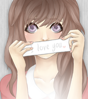 I love you.~ by cookiestruck