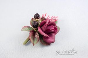Flowers from a cold porcelain by polyflowers