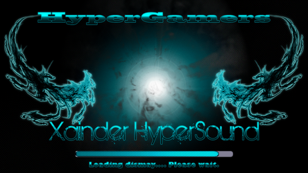 Xainder HyperSound Background by dragonnick1001