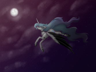 Flying in the night by Magical-wings06