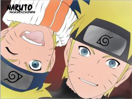 Naruto and Naruto Shippuuden by JadeBarett