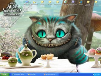 Cheshire Cat-Desktop 4-13-10 by Lovely-DreamCatcher