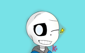 New style to draw Sans by Karol-88