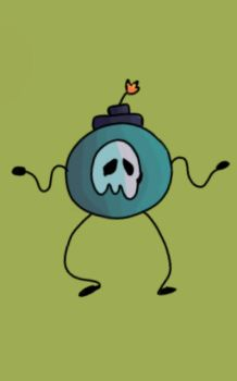 Spook Bob Omb by SolangeGag