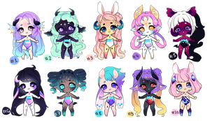 [CLOSED ] Althea Adoptables by jultype