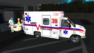 [MMD] Ford Ambulance v1.0 by MichaelOKeefe1991