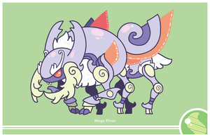 Pokemon #127 Mega Evolution