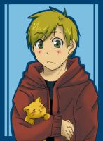 Alphonse and Kitty colored by Orangeplum