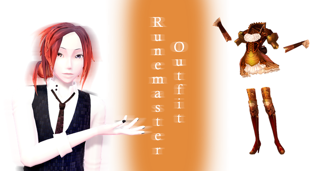 [MMD] Runemaster outfit DL by JoanAgnes