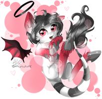 .:at:. Little devil by HamaTTe