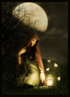 Under the moon... by Adaae