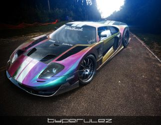 FORD GT by typerulez