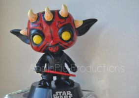 Custom Funko Pop Vinyl Sith Lord Yoda Star Wars by ApplePie-Productions