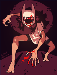 ART FIGHT: SCARY BITE by Cubesona