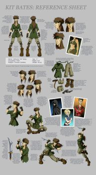 Kit Bates: Reference Sheet by manic-pixie