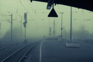 Neuss in the Fog by TheSoullessRedbeard