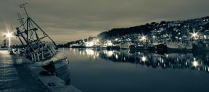 Newlyn Harbour by liamw