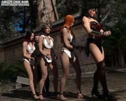 Amazon Chain Gang by thejpeger
