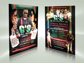 Party flyer by owdesigns