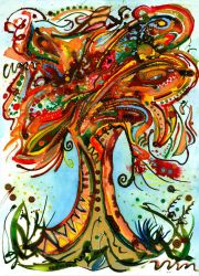 Autumn Tree  commission by amyhooton