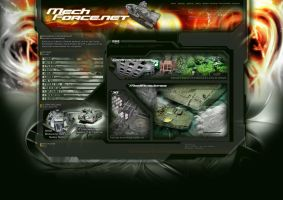 Mechforce Website V.1.0 by AlejandroFiny