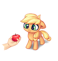 Some Apple for AppleJack by INowISeeI
