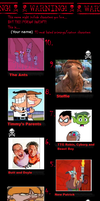 My 10 Most Hated Characters (UPDATED) by TheCrappyMSPainter23