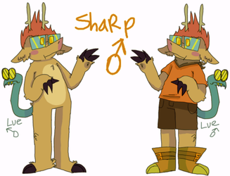 - S H A R P - by Moonfrox