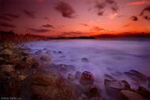 Jaffa Sunset by RoieG