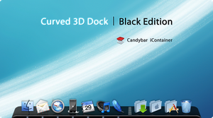 Curved 3D Dock - Black Edition by DJ-Fall