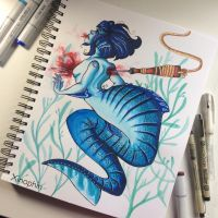 Mermay by Xinophin