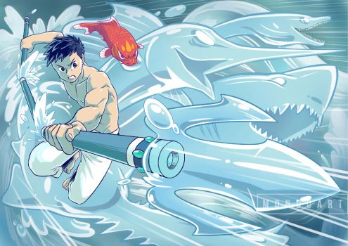 The Ocean is with Me!! by MondoArt