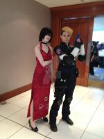 Ada Wong and Leon S Kennedy (4 and RPD) by MasterCyclonis1