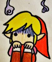Red Link Scared by colorful-soup