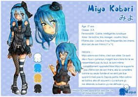 - Character Reference - Miyo - by Adween-art