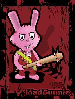 The Mad Bunnie by Tressi