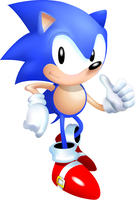 HD Sonic the Hedgehog by Overxbound