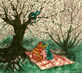 Picnic by Adoulie
