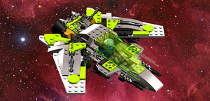 Lego Runefighter Ship 2.0 by TheLegonaut