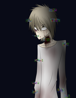 New creepypasta oc: Strangled Robb by King-of-Creeps