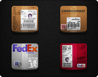 Speed Post Services Pack - Jaku theme iPhone/iPod by iGeriya