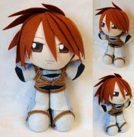 Commission, Mini Plushie Kratos Aurion Judgement by ThePlushieLady