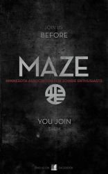 MAZE Poster by SPikEtheSWeDe